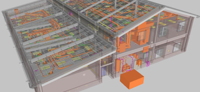 Battalion Headquarters Facility - Building Information Modeling - BIM Project