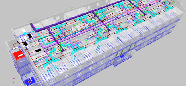 HAAF 72 Man Barracks - Building Information Modeling - BIM Project