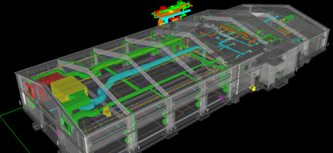 Headquarters Tactical Equipment Maintenance Facility Fort Riley - Building Information Modeling - BIM Project