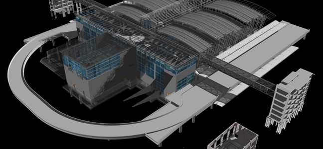 Sacramento International Airport - Building Information Modeling