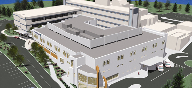 St Joseph´s Medical Center Eureka - BIM services