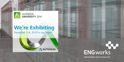 ENGworks at the AU 2014 - Visit Us!